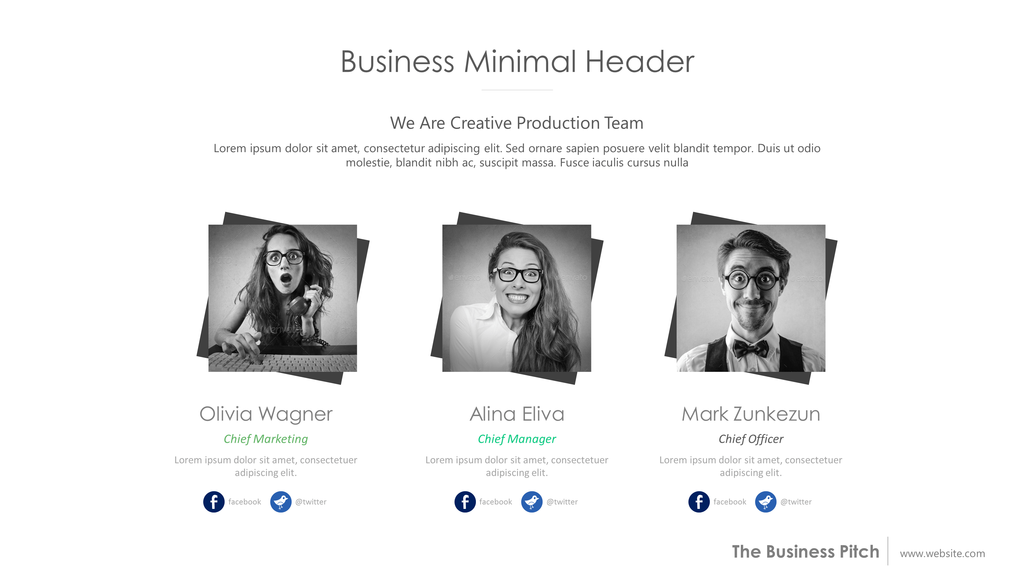 Free Business Pitch PowerPoint Template