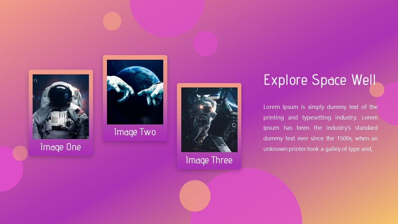 Nebulla Space PowerPoint Template