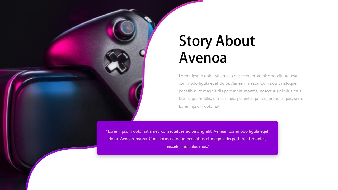 Free Avenoa Technology PowerPoint Template