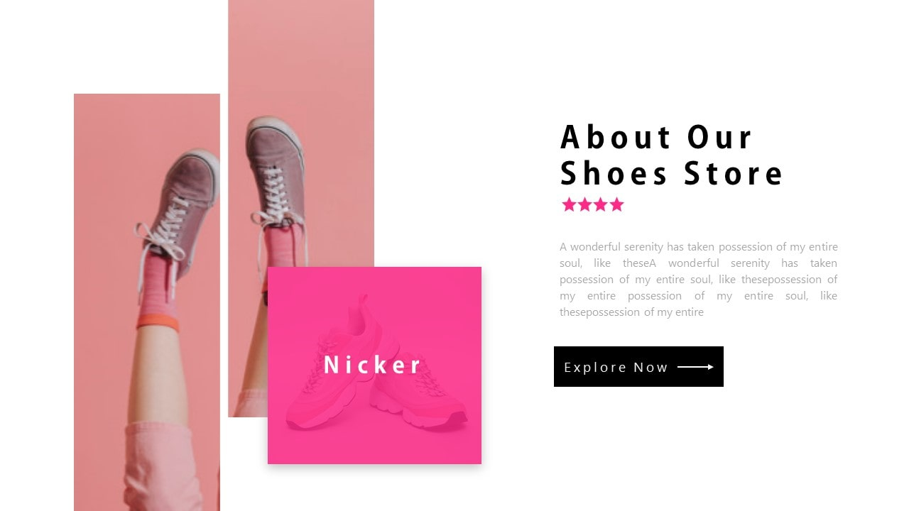 Free Nicker E-Commerce PowerPoint Template