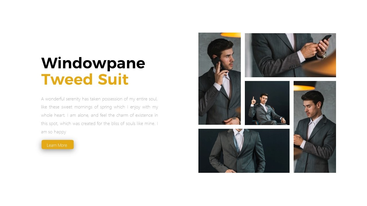 Free Bossmind Fashion PowerPoint Template