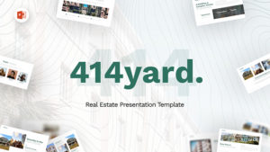 414Yard Real Estate PowerPoint Template