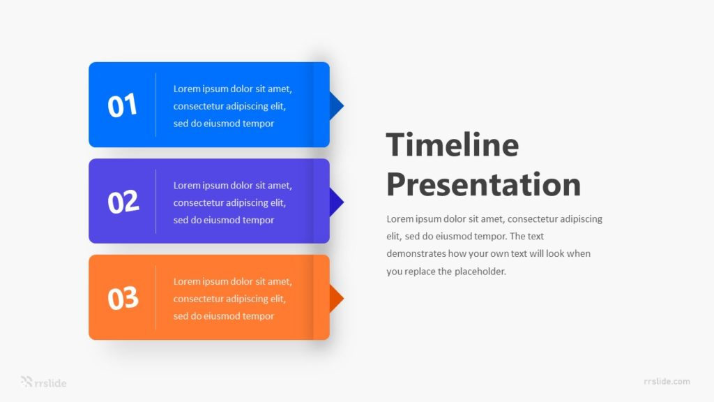 3 Step Business Plan Infographic Template