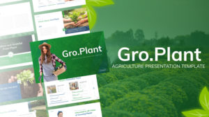 Groplant Agriculture PowerPoint Template