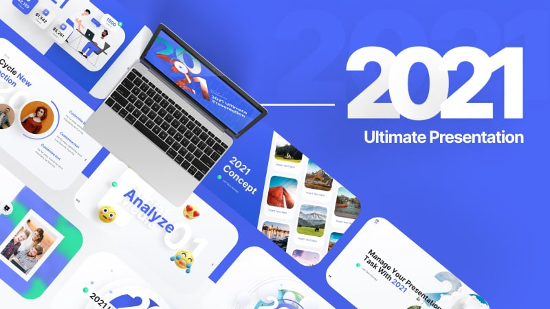 2021 Ultimate PowerPoint Template: Demo